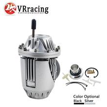 VR RACING-УНИВЕРСАЛЬНЫЙ предохранительный клапан BOV SUPER SQV 4 IV SSQV 4 IV(черный или серебристый) с PQY наклейкой VR5730-MB
