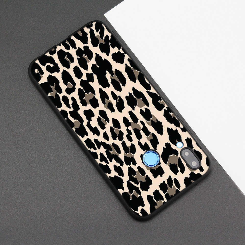 Cubierta de la caja de silicona para Huawei P20 P10 P9 P8 Lite Pro 2017 P inteligente + 2019 Nova 3i 3E teléfono fundas moda Tigre leopardo estampado pantalón