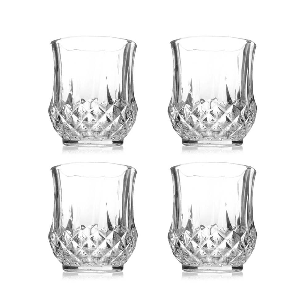 Glass juice cups design - Aliexpress Com Buy Luxury Crystal Engraving Diamond Design Wine Glass Whisky Beer Cups Juice Water Tumbler Bar Set Party Drink Supply Cupware From