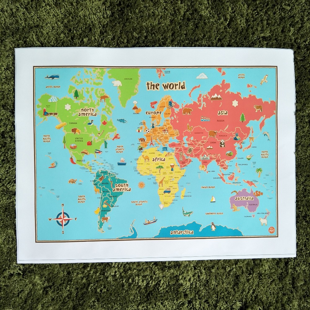 Xdr675 old world map poster art prints decorative painting core xdr675 old world map poster art prints decorative painting core kraft paper vintage home decor wall painting for kids room in painting calligraphy from gumiabroncs Image collections