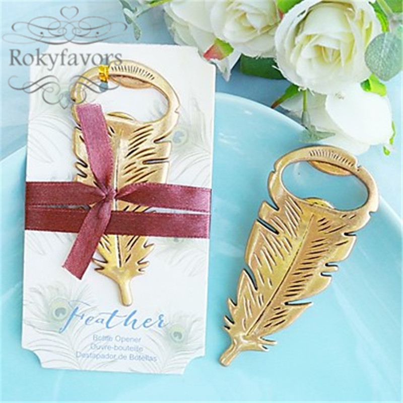 Peacock Wedding Gifts: FREE SHIPPING 100PCS Vintage Antique Gold Peacock Feather