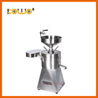 Professional kitchen processing machine industrial 60kg/h electric stainless steel Soya bean grinder soy milk maker for sale