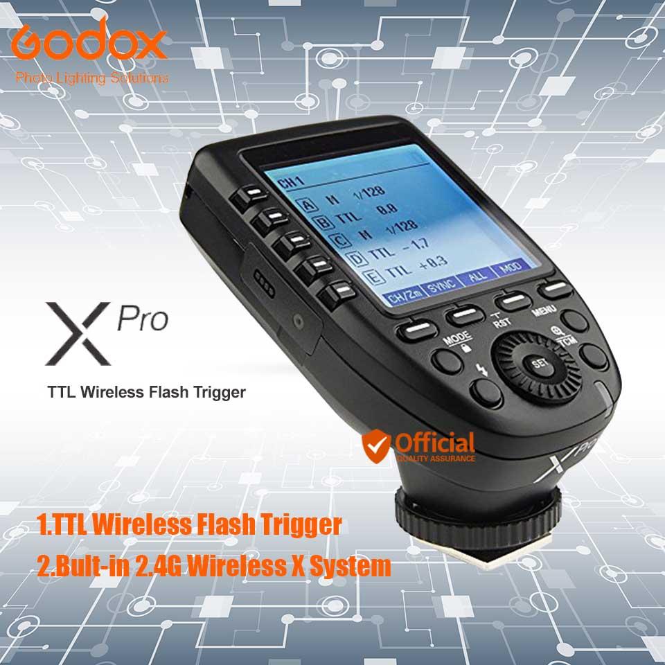Godox Xpro-C/N/S/F/O ttl 2,4 г Беспроводной триггера Высокая Скорость синхронизации 1/80 ...