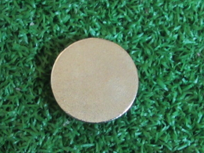 Image 2 - 100pcs per lot  25mm ball marker customized logo ball marker with glue coating full color printing golf ball marker-in Golf Training Aids from Sports & Entertainment
