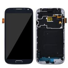 100% TOP S4 LCD for SAMSUNG Galaxy S4 LCD Display GT-i9505 i9500 i9505 Full LCD Screen Digitizer Assembly стоимость