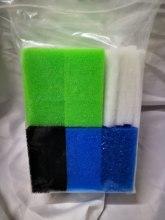 Multi-Set 42PCS Compatible Aquarium Filter Sponge for Juwel Compact /Bioflow3.0 ( 1xFine,1xCoarse,2xNitrate,2xCarbon,5xpolypads)