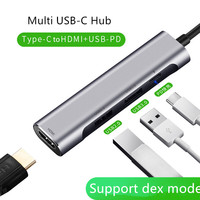 USB C Hub Thunderbolt 3 Adapter Support Samsung Dex Cable Type C to HDMI PD USB 3.0 Dock 4K*2K/30HZ for macbook samsung switch
