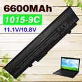 6600mAH Black battery For Asus Eee PC  EPC 1215  PC 1215b 1215N 1015b 1015 1015bx 1015px 1015p  A31-1015 A32-1015  AL31-1015
