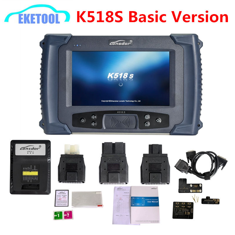 2019 New Lonsdor K518S Basic Version Auto Key Programmer Odometer Adjustment For All Makes Free For