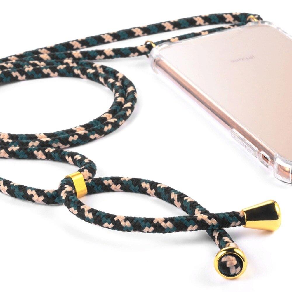 Fashion Cross Shoulder Strap Clear TPU Case For iPhone 11 Pro Max 11 Pro 11 XS Fashion Cross Shoulder Strap Clear TPU Case For iPhone 11 Pro Max 11 Pro 11 XS Max XR XS X 7 8 6 6S Plus 5S SE Necklace Cover