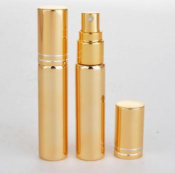 New 500PCS 10ML Glass Refillable Perfume Bottle With Metal Spray&Empty Case perfume bottles atomizer glass perfume bottles SY90