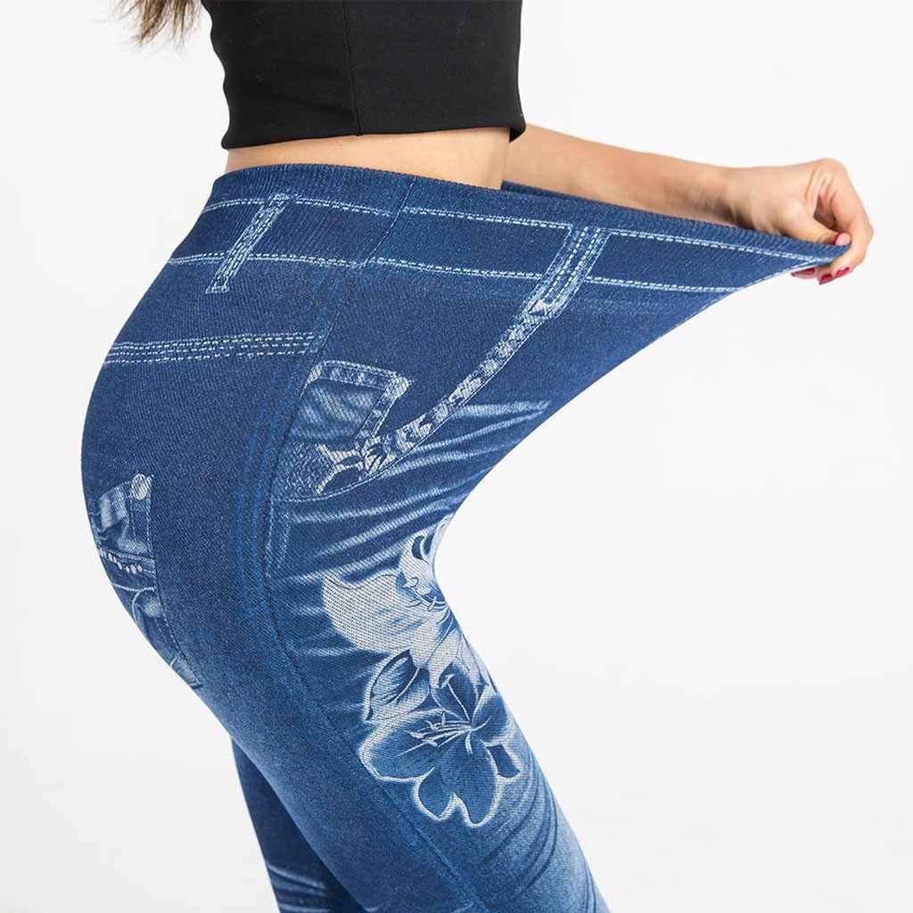 Pantalon Femme Kargo Pantolon Kadın Ladies'printed 2019 Dipleri Kalça Kaldırma Overshoot Ve ince pantolon спортивные штаны женские Z4