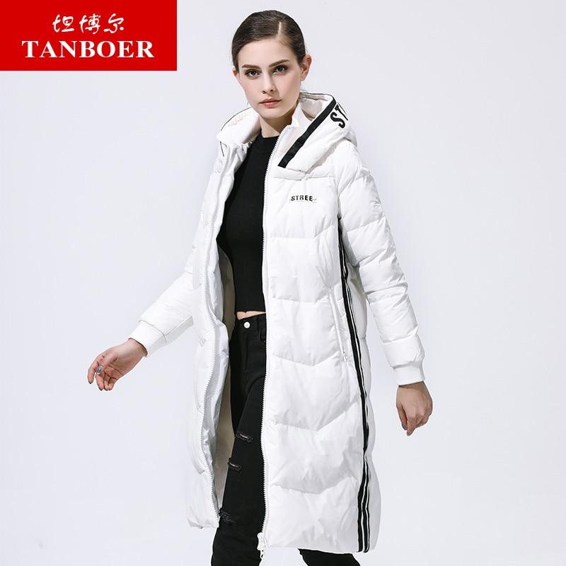 Au Red Long D'hiver Td3710 002 Canard Capuchon Femme Black 102 027 Chaud Manteaux De À White Tanboer Duvet Down Vestes Femmes Modèle qXAO1OB