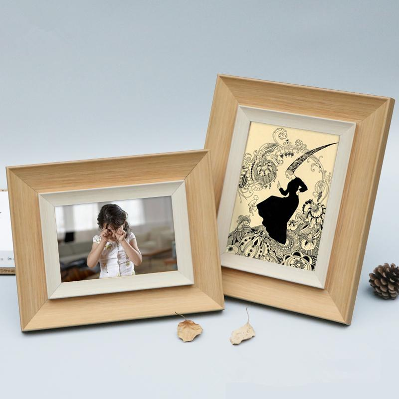 Modern Style Family Photo Frames Desk&Table Ornaments Wedding Gift Picture Frame For Home Decor 5/6/7/8/10 Inch Resin Frame Foto