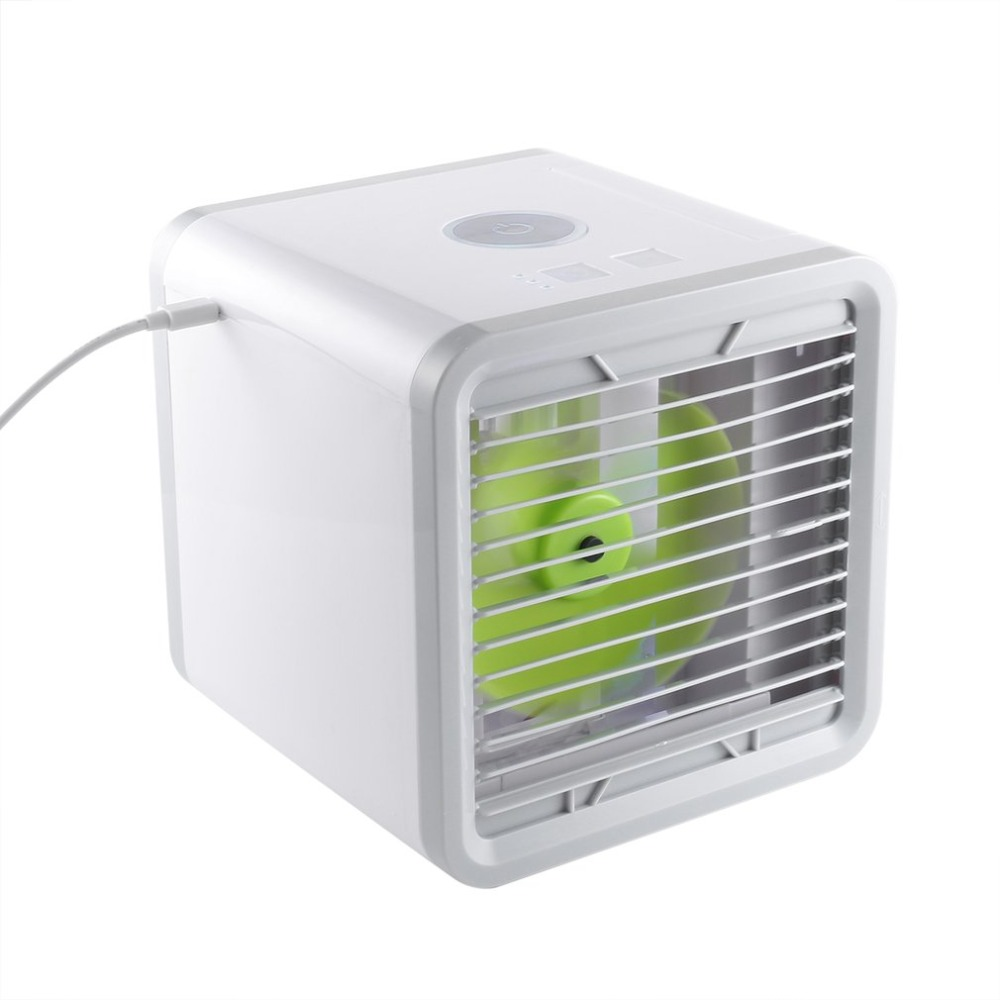 Air Cooler USB Compact Size Powerful Handy Cooler Table Desktop Fan Cooler Air Conditioning Cooler Fan Household Office