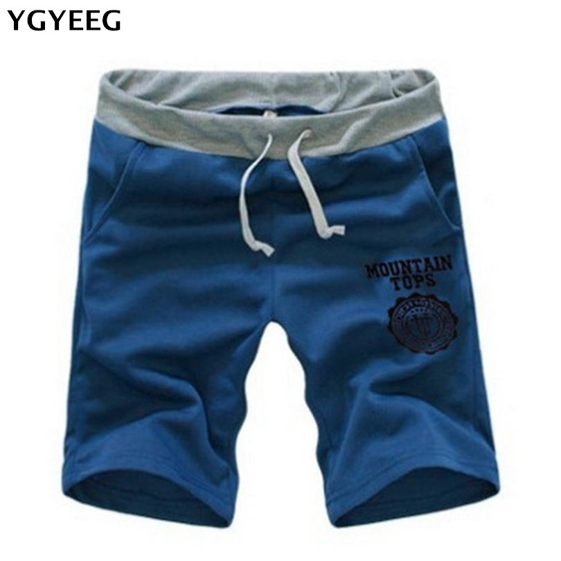 YGYEEG New Fashion Men Shorts Trousers Cotton Loose Fitness Short Jogger Casual Style Unisex Shorts Summer Plus Size Clothing