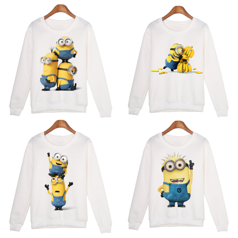 Minion Men and women sweater Cosplay Costume Cartoon Minnie Mouse Print Print Top Fashion wild trend pullover sweater