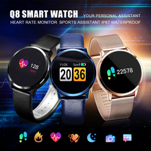 Pedometer Smart Watch Men Women Heart Rate Blood Pressure Oxygen Monitor OLED Screen Bluetooth Sport Wearable Devices