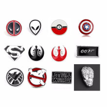 Kelas Atas Deadpool Pin Bros Star Wars Darth Vaderdoctor Yang Bros Perhiasan Merah Enamel Pin Lencana Pin Fashion Dress Aksesori(China)