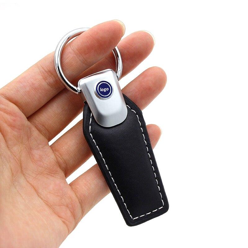 Для Audi NISSAN FORD BMW Volkswagen для benz металлический брелок с логотипом знак брелок эмблема брелок держатель