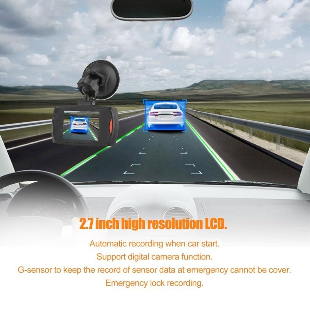 HD 720P Car DVR Camera Dash Cam Video 2 4inch LCD LCD DisplayNight Vision  Vehicle Camera Recorder Night Vision drop shipping - PDS