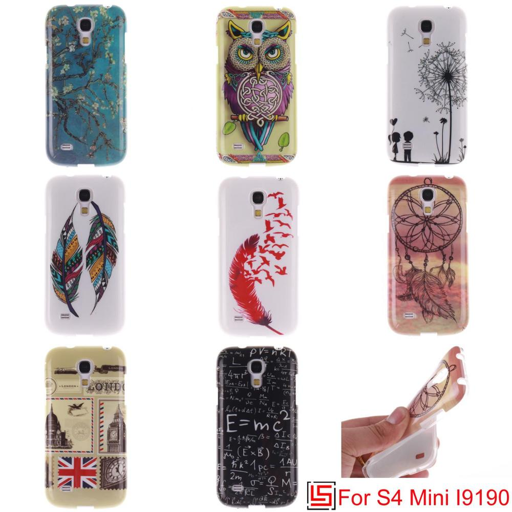 Cheap Ultra Thin TPU Silicone Soft Phone Cell Mobile Case Cover Bag Cove For Samsung Samsuns Sumsung Galaxy S4 mini GT-I9190