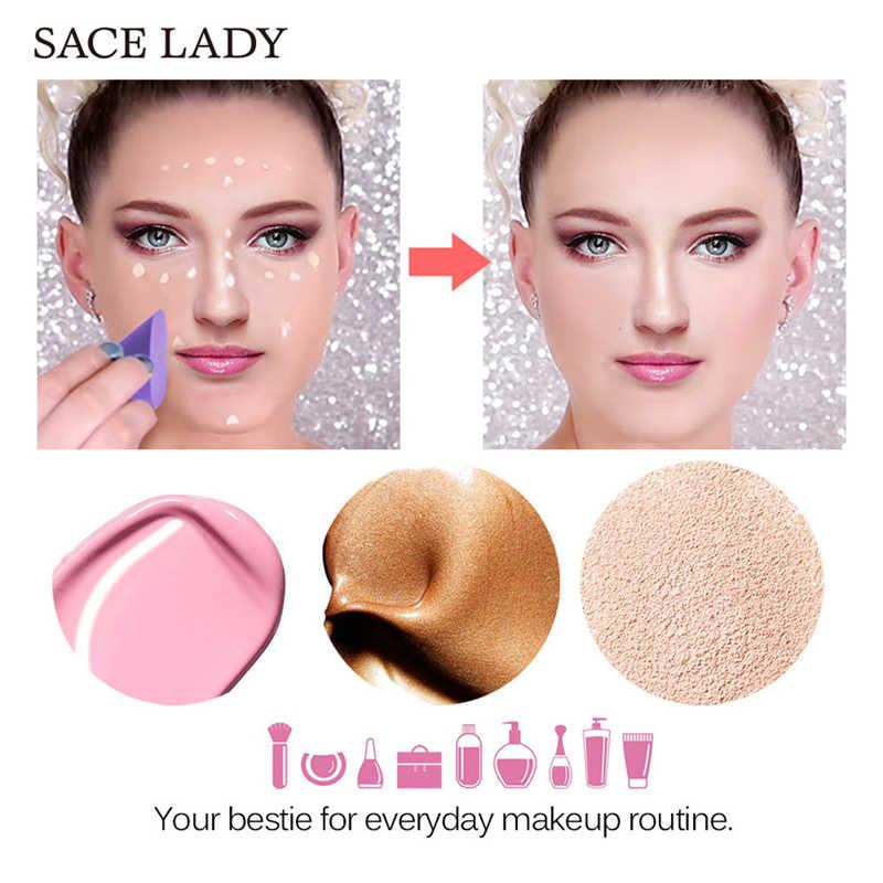 8*3,5*2,1 см красота 1 шт. Новый спонж для макияжа блендер Мягкий косметический слоеный 4 цвета для основы Профессиональный Spong & Puff