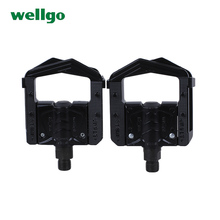 WELLGO folding bikes pedal alloy DU bearing mountain bike riding gear bike accessories F248