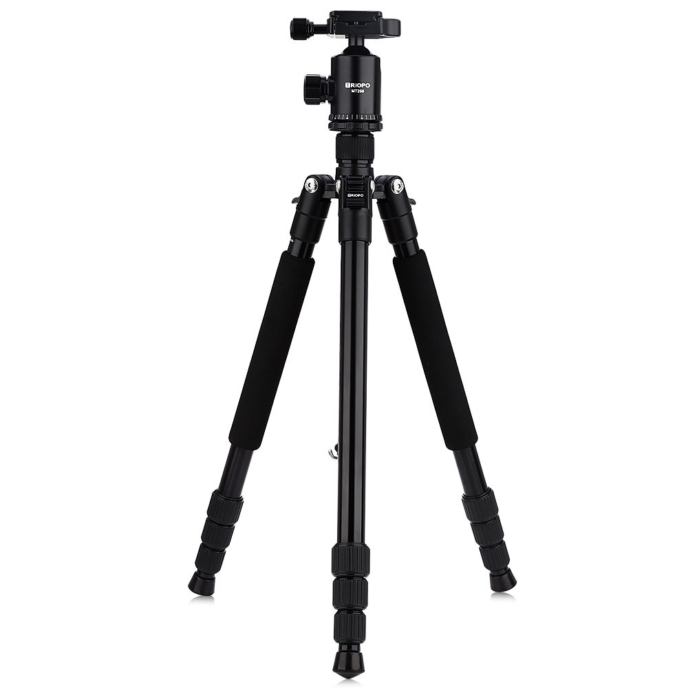 Original TRIOPO MT258 63 inch Aluminum Alloy Camera Video Tripod Monopod with Quick Release Plate
