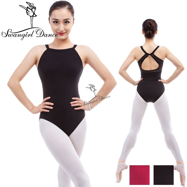 women camisole ballet leotard with lace red leotard for dance  costume  gymnastic leotard ballet costumes for sale adult CS0302