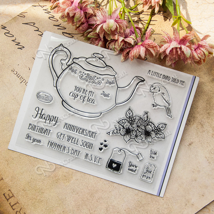 You are my tea Clear Silicone Stamp for DIY scrapbooking/photo album Decorative craft angel and trees clear stamp variety of styles clear stamp for diy scrapbooking photo album wedding gift cl 163