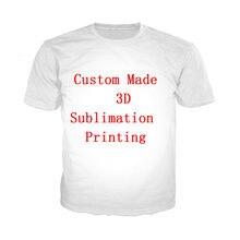 LIASOSO dostosuj męska koszulka DIY własne zdjęcia/zdjęcia/gwiazda/Anime/postać/piosenkarka na T Shirt 3D pełny nadruk z krótkim rękawem