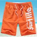 M-5XL Мужчины Шорты Пляж Совета Шорты Мужчины Быстрое Высыхание 2017 Летняя Одежда Boardshorts Песчаный Пляж Шорты