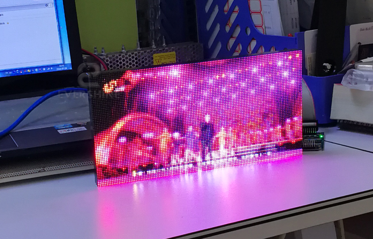 P2 indoor full color led module-4