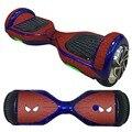 Pase el ratón Junta Balancing Scooter Hoverboard Etiqueta Piel Protectora de la Cubierta de La Etiqueta de Dos Ruedas Equilibrio Scooters Pegatinas de Spiderman