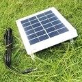 BUHESHUI 6 Вт 3 Вт 6 в солнечная батарея поликристаллическая солнечная панель система питания для 3 7 В зарядное устройство светодиодный свет DC 5521 ...