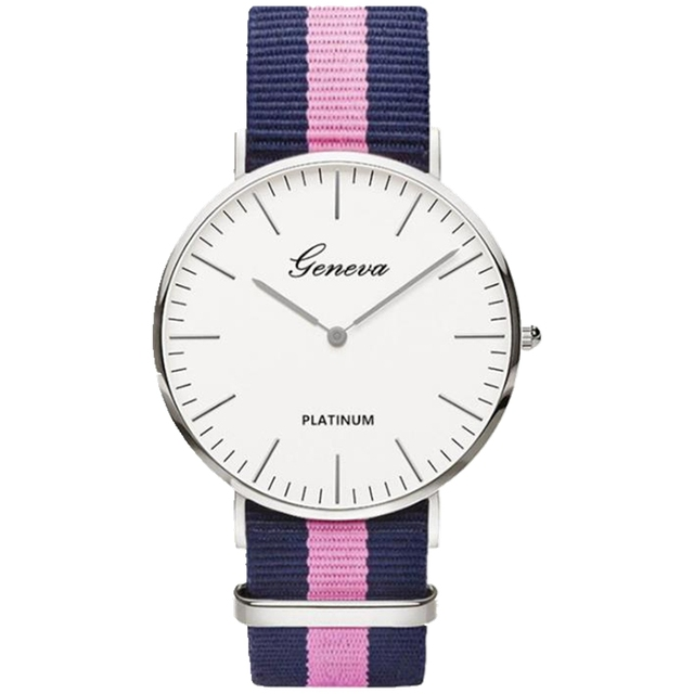 2018 Hot Sale Nylon strap Style Quartz Women Watch Top Brand Watches Fashion Cas