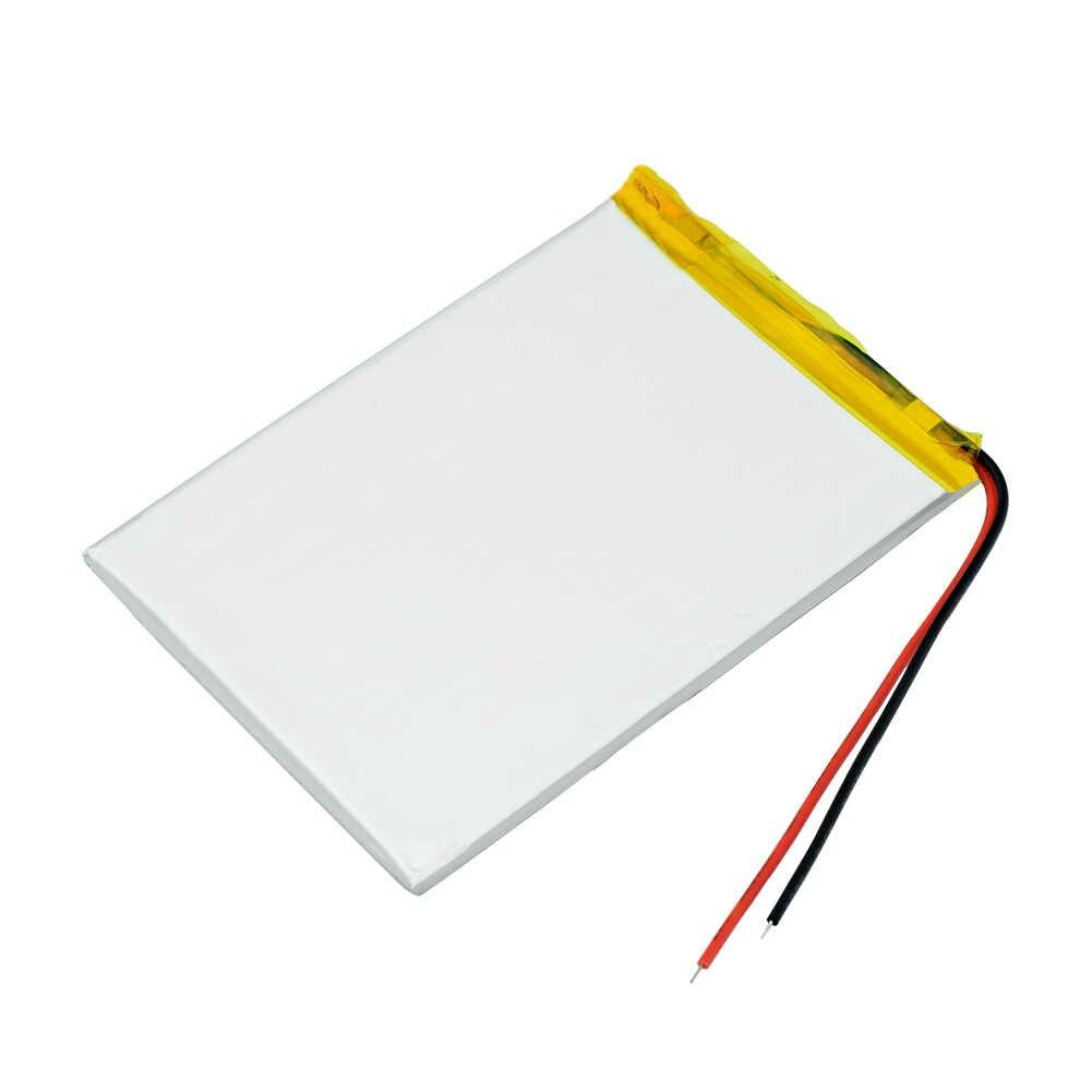 Размер 306080 3,7 в 2200 мАч литий-ионная Lipo ячейка литий-полимерная аккумуляторная батарея для мобильного Bluetooth динамика автомобиля dvr