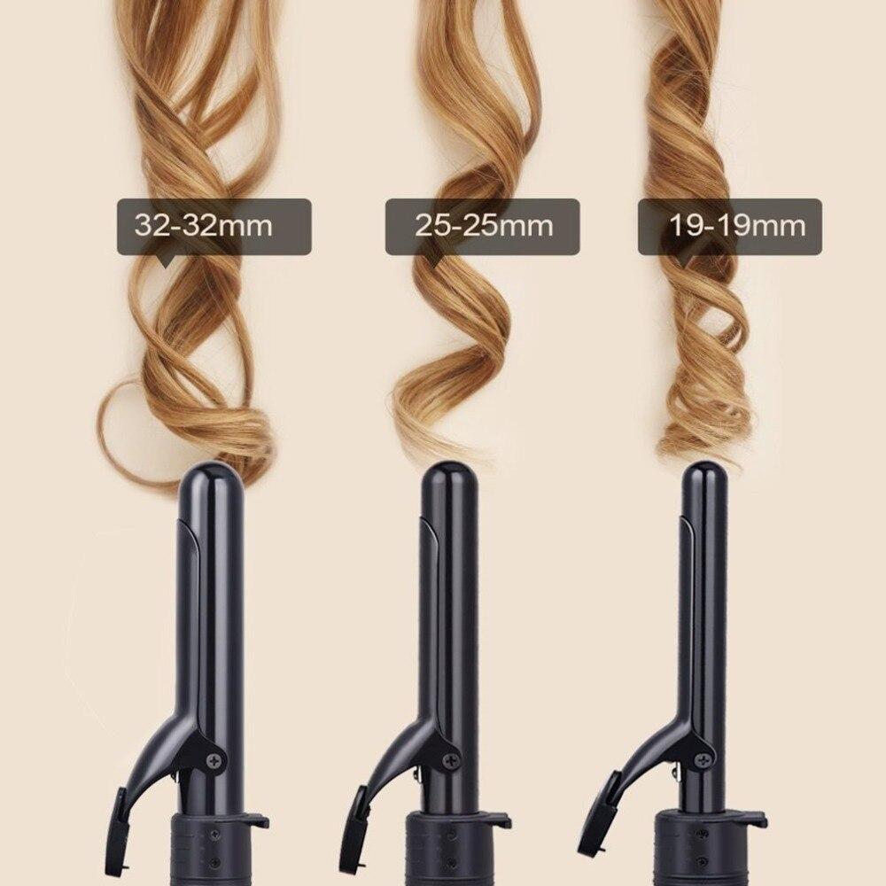 Pro 3 Part Interchangeable Hair Curling Iron Machine