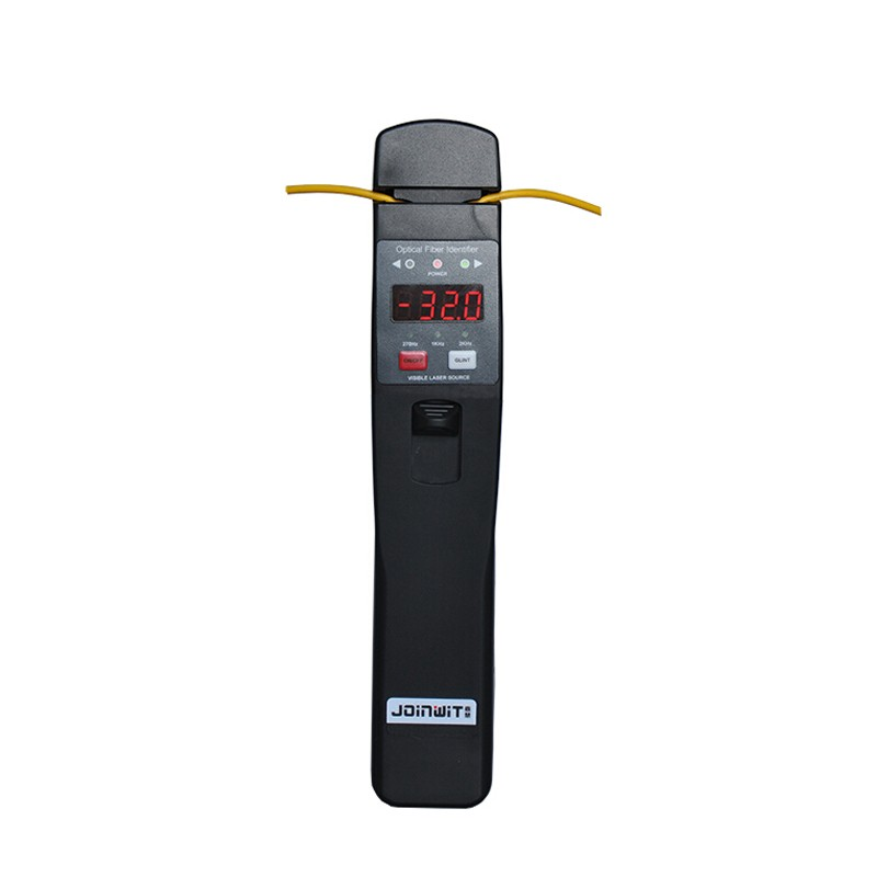 Handheld JW3306D Fiber Optic Identifier 800-1700nm Live Fiber Detector with Built in 10mw Visual Fault LocatorHandheld JW3306D Fiber Optic Identifier 800-1700nm Live Fiber Detector with Built in 10mw Visual Fault Locator