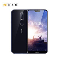 Nokia X6/6.1plus Mobile Phone 6+64G Snapdragon 636 Octa Core 5.8 inch 19:9FHD 16.0MP+5.0MP Camera Fingerprint ID Smartphone