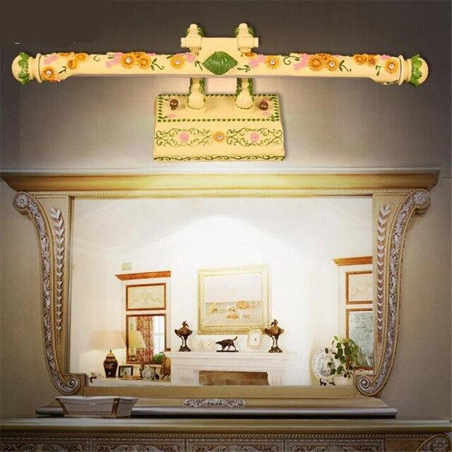 Vintage Boheme Main Creative Resine Led Mur Lampe Pour Salle De Bain