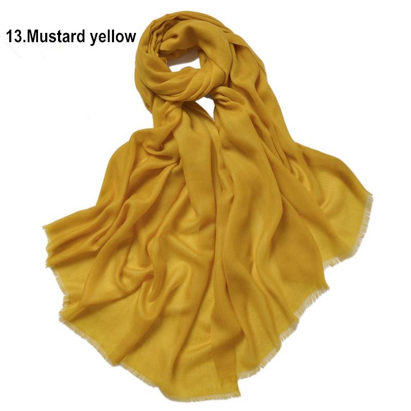 13. Mustard yellow