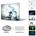 Broken glass rupture Wineglass printed Case Air 13 11 Crystal Clear for MacBook Pro Retina 13 15 Hard Cover Mac Book 12 inch