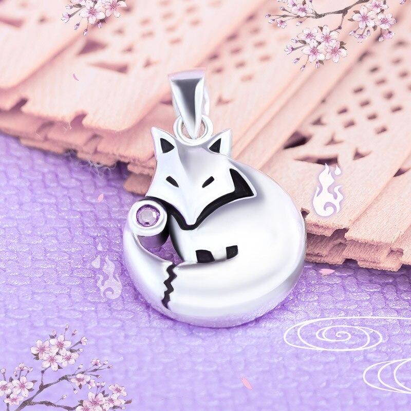 Anime Kamisama Love Kamisama Kiss Tomoe Fox Pendant Halloween  Necklace 925 Christmas Gift Cosplay Necklace Pendant Gift