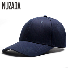 Brand NUZADA Simple Classic Men Women Baseball Cap Bone 6 Colors Spring Summer Autumn Caps Cotton Adjustable Snapback Hats