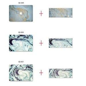 Image 3 - Yeni Mermer 3D baskı MacBook notebook kılıfı dizüstü bilgisayar kılıfı Için MacBook Hava Pro Retina 11 12 13 15 13.3 15.4 inç Torba