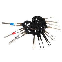 L 11 pièces Auto voiture prise Circuit imprimé fil harnais Terminal Extraction Pick connecteur sertissage broche arrière aiguille enlever ensemble doutils