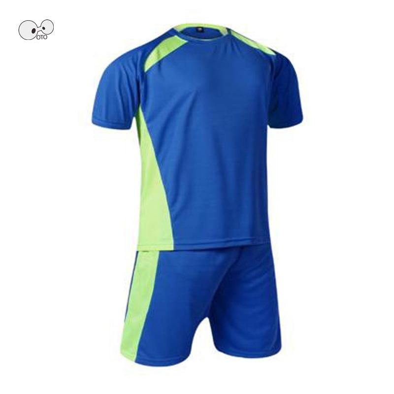 Soccer Jerseys Costumes for Men Clothes Football Kits Summer Sportswear Suits Team Sport Futsal Sets Training Uniforms DIY Print