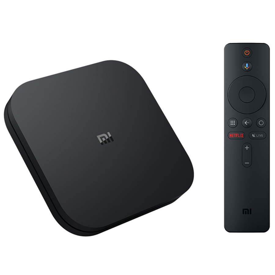 Versión Global Original Xiaomi mi caja de S Smart TV Box 4 Android 8,1 4 K Quad Core 2 GB 8 GB 16 GB GB HD mi 2,4G 5,8G WiFi Bluetooth 4,2 caja de TV - 2